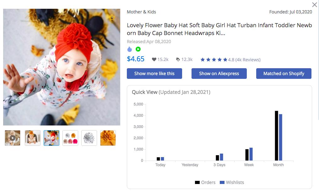 Flower Baby Hat - FindNiche