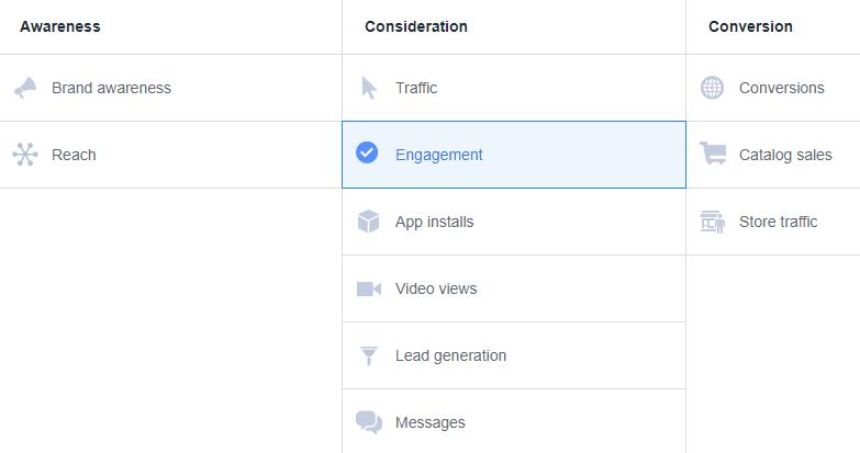 PPE vs WC Facebook Ads   Page Post Engagement vs Website Conversion - BigSpy