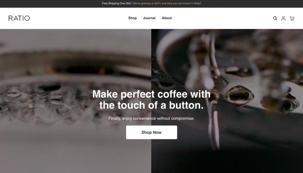 Ratio Coffee -- FindNiche