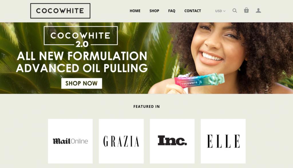 Cocowhite -- FindNiche